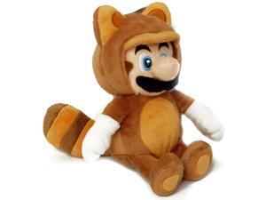 "Super Mario Brothers Tanooki Mario 9"" Plush"