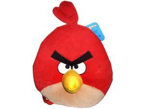 """Angry Birds 12"""" Plush Backpack: Red Bird"""