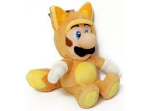 "Super Mario Brothers Kitsune Fox Luigi 9"" Plush"