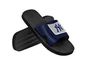 New York Yankees MLB Mens Shower Slide Flip Flops Small
