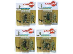 1:35 Combat Figure Series 7 Mg42 Gun Team Feldgendarmerie Case Of 48