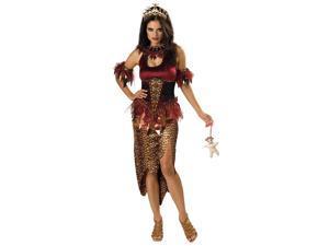 Voodoo Witch Priestess Designer Costume Adult Small