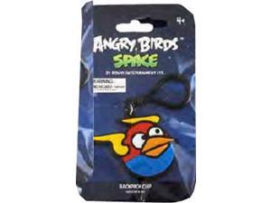 "Angry Birds Space 3.5"" PVC Backpack Clip On: Lightning Blue Bird"