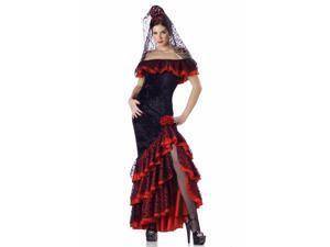 Senorita Adult Costume X-Large