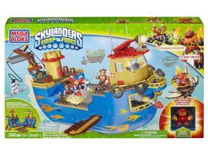 Skylanders Swap Force Flynn's Rescue Ship Mega Bloks Set
