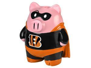 "NFL 8"" Team Superhero Piggy Bank: Cincinnati Bengals"