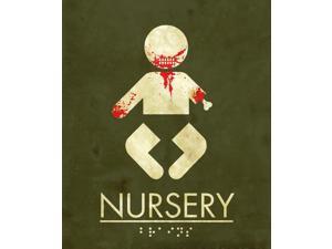Nursery Sign Halloween Prop Decoration