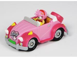 "Sonic Sega All Stars Racing Vehicle & 1.5"" Amy Rose Figure"