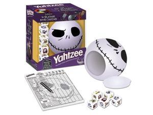 Nightmare Before Christmas Yahtzee Dice Game