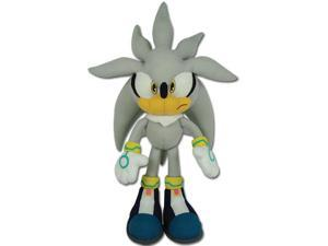"Sonic The Hedgehog 13"" Silver Sonic Plush"