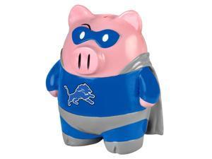 "NFL 8"" Team Superhero Piggy Bank: Detroit Lions"