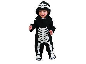 Skeleton Romper Costume Toddler 6-12 Months