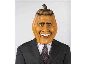 Pumpkin Obama Costume Mask