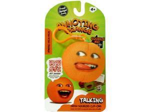 """Annoying Orange 2.25"""" Talking Plush Clip On: Nyan Nyan Orange"""