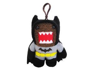 "Domo 4"" Plush Clip On: Batman Black Uniform Domo"
