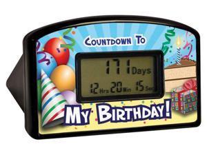 My Birthday Countdown Timer Clock