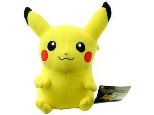 """Pokemon 6"""" Plush Pikachu"""