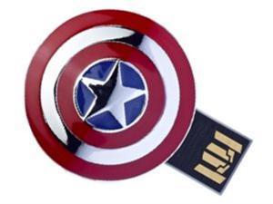 InfoThink IFT-64154-C Marvel The Avengers USB 8GB Flash Drive Avengers Captain America