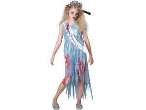 Homecoming Horror Zombie Costume Dress Tween Large