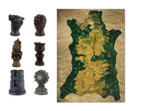 Game of Thrones Map & Marker Set
