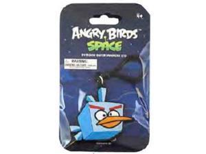 "Angry Birds Space 3.5"" PVC Backpack Clip On: Ice Bomb Blue Bird"