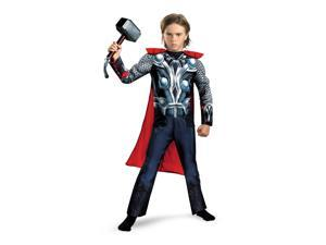 The Avengers Thor Muscle Jumpsuit Costume Child Toddler Large 10-12