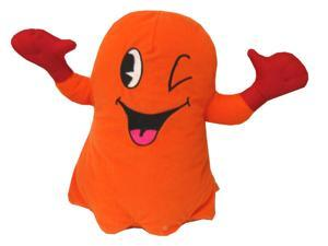 "Pac-Man 10"" Plush Orange Ghost"