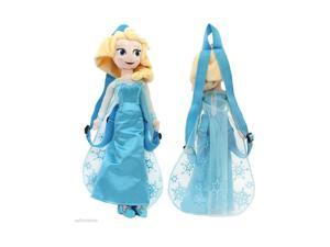 "Frozen 14"" Plush Backpack- Elsa"