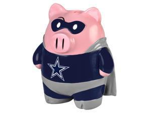 """NFL 8"""" Team Superhero Piggy Bank: Dallas Cowboys"""