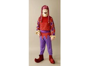 Puppet Master Jester Costume With Mask Adult Standard