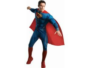 Superman Man Of Steel Deluxe Muscle Chest Costume Adult X-Large