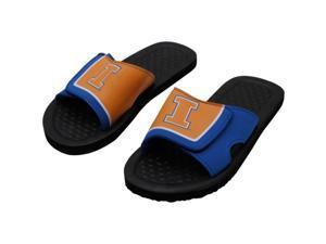 Illinois NCAA Mens Shower Slide Flip Flops Medium