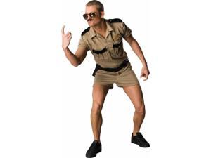 Reno 911 Lt Dangle Adult Costume Standard