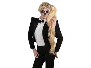 Lady Gaga Side Ponytail Costume Accessory Wig Adult