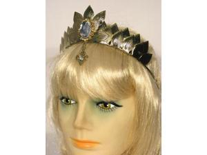 Oz Witch Metal Costume Crown Adult: Gold One Size