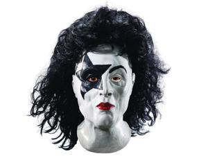 KISS Starchild Deluxe Overhead Latex Adult Costume Mask