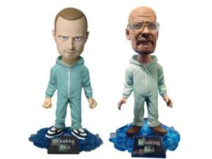 Breaking Bad Walter White & Jesse Bobblehead Exclusive Glow In The Dark Set Of 2