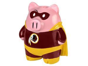 "NFL 8"" Team Superhero Piggy Bank: Washington Redskins"