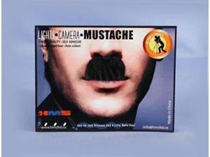 Charlie Chaplin Black Synthetic Hair Adult Costume Moustache