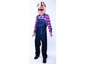 Motel Hell Pig Costume Adult Medium