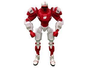 """Wisconsin Badgers 10"""" NCAA Fox Cleatus Robot"""