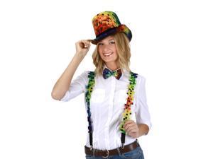 Pixel 8-Bit Adult Costume Coachman Hat
