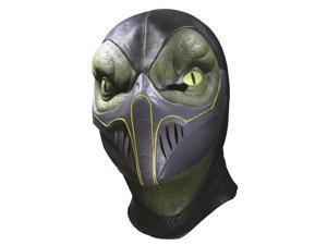 Mortal Kombat Deluxe Reptile Latex Adult Costume Mask