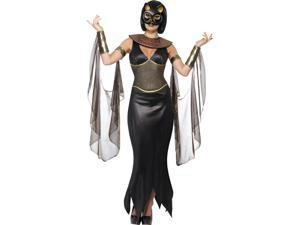 Mythical Egyptian Bastet Cat Goddess Adult Costume Small