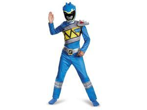 Power Rangers Dino Charge Blue Classic Child Costume 7-8