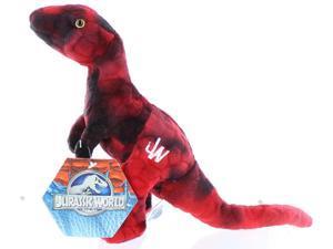 "Jurassic World 7"" Plush Red Raptor"