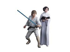 Star Wars ARTFX+ Statue: Luke Skywalker and Princess Leia