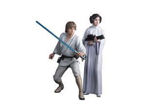 Star Wars ARTFX+ Statue: Luke Skywalker and Princess Leia