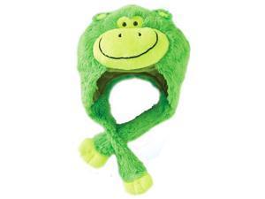 My Pillow Pets Premium Plush Hat Neonz Neon Green Monkey
