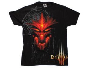Diablo III Burning Special Edition Premium Adult Tee Small